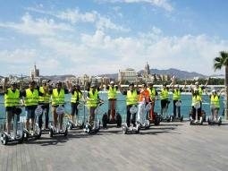 Ninebot: 1 Hour City Tour, Gibralfaro & Malagueta