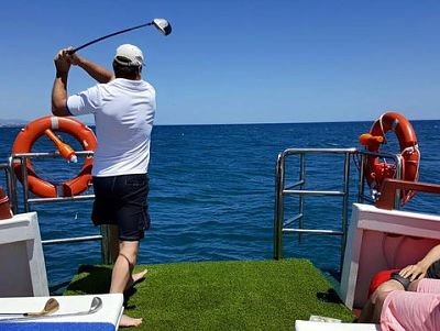 Malaga Sailing Golf Charter from Marbella