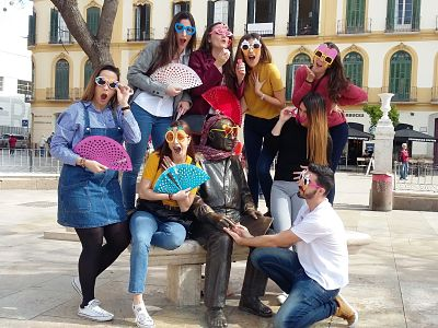 Customized City Scavenger Hunt in Malaga
