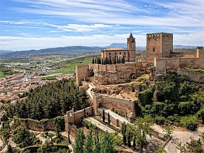Alcalá La Real & Wine Tasting from Malaga