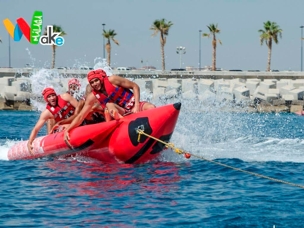 Banana Boat Ride in Malaga Beach