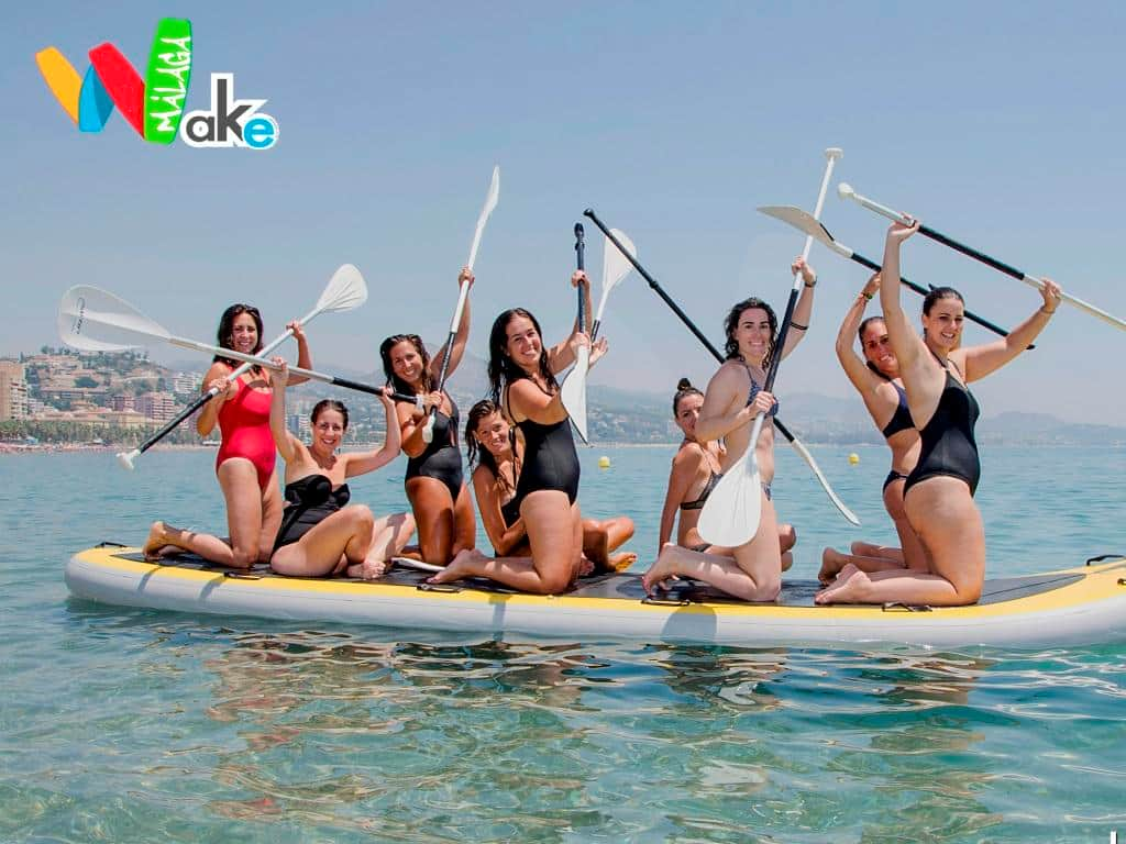 Big Sup: The huge Paddle Surf for groups
