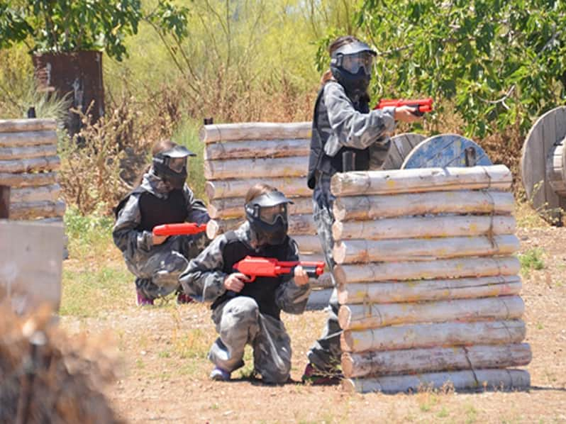 Paintball Fun Strategy Game in Malaga