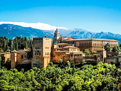Granada & Alhambra Private Tour from Malaga