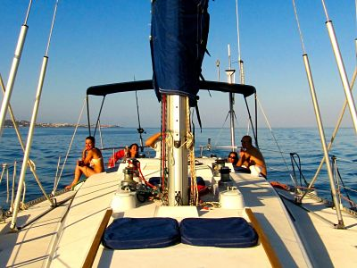 Sailing Day in Malaga: Boat Charter & Paddle Surf