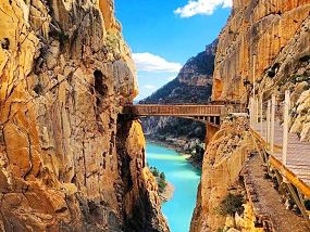 Caminito del Rey Day Trip: Tickets Included